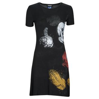 Vêtements Femme Robes courtes Desigual MICKEY