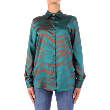 Vêtements Femme Chemises / Chemisiers Vicolo TW0796 Vert / marron