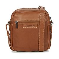 Taschen Herren Geldtasche / Handtasche Arthur & Aston 2028-10 Kognac