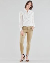 Abbigliamento Donna Pantaloni 5 tasche Cream HOLLY TWILL PANT