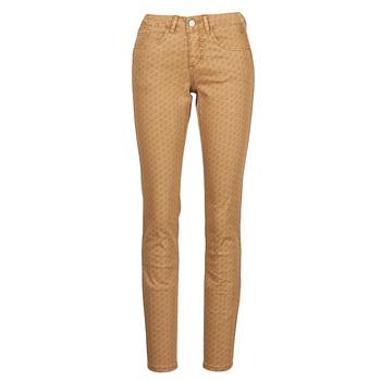 Vêtements Femme Pantalons 5 poches Cream LOTTE PRINTED