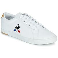 Schuhe Herren Sneaker Low Le Coq Sportif VERDON II Weiß / Braun,