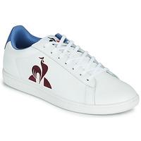 Schuhe Herren Sneaker Low Le Coq Sportif MASTER COURT Weiß / Blau