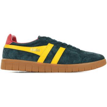 Chaussures Homme Baskets mode Gola Hurricane Suede bleu