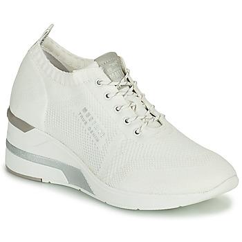 Schuhe Damen Sneaker High Mustang THALIA Weiß