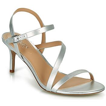 Schuhe Damen Sandalen / Sandaletten Lauren Ralph Lauren LANDYN Silbrig