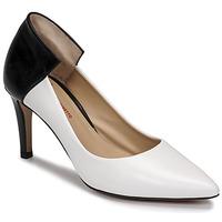 Chaussures Femme Escarpins Perlato 11764-VENUS-BLANC-JAMAICA-NOIR