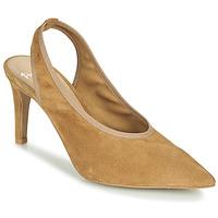 Schuhe Damen Sandalen / Sandaletten Perlato 11819-CAM-CAMEL Kamel