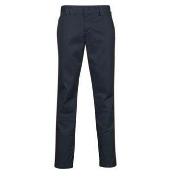 Kleidung Herren 5-Pocket-Hosen Dickies SLIM FIT WORK PNT Marineblau