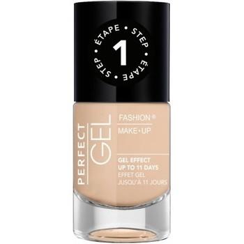 Beauté Femme Vernis à ongles Fashion Make Up Fashion Make-Up - Perfect Gel Vernis Etape 1 n°02 Chair ... Beige
