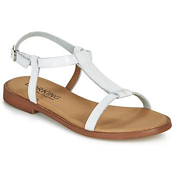 Schuhe Damen Sandalen / Sandaletten Dorking LEYLA Weiß