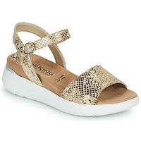 Schuhe Damen Sandalen / Sandaletten Dorking ROCK Golden