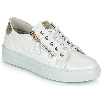 Schuhe Damen Sneaker Low Dorking VIP Weiß / Silbrig
