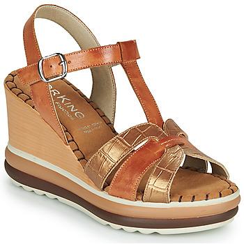 Schuhe Damen Sandalen / Sandaletten Dorking TOTEM Braun,
