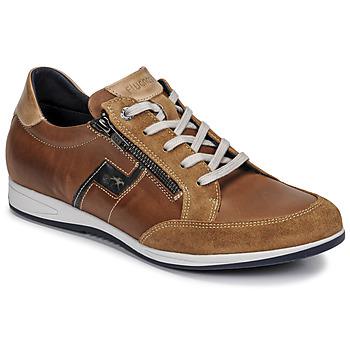 Schuhe Herren Sneaker Low Fluchos 0207-AFELPADO-CAMEL