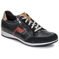 Schuhe Herren Sneaker Low Fluchos 0207-AFELPADO-MARINO Marineblau