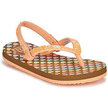 Schuhe Mädchen Zehensandalen Reef LITTLE STARGAZER PRINTS