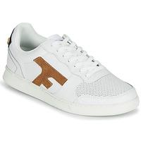 Schuhe Herren Sneaker Low Faguo HAZEL LEATHER Weiß / Braun,