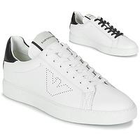 Schuhe Herren Sneaker Low Emporio Armani BELGA Weiß