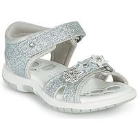 Schuhe Mädchen Sandalen / Sandaletten Chicco FABIANA Silbrig