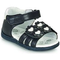 Schuhe Mädchen Sandalen / Sandaletten Chicco GIOSTRA Marineblau