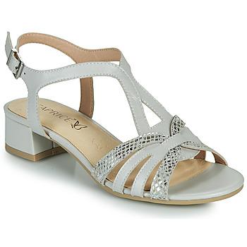 Schuhe Damen Sandalen / Sandaletten Caprice 28201-233 Beige