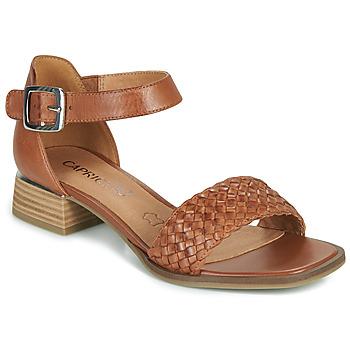 Schuhe Damen Sandalen / Sandaletten Caprice 28208-303 Kognac