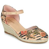 Schuhe Damen Leinen-Pantoletten mit gefloch Dockers by Gerli 36IS210-761