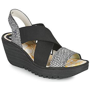 Schuhe Damen Sandalen / Sandaletten Fly London YAJI Weiß