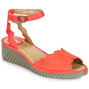 Schuhe Damen Sandalen / Sandaletten Fly London LUME Rot