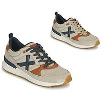 Schuhe Herren Sneaker Low Munich ALPHA 49 Beige / Blau