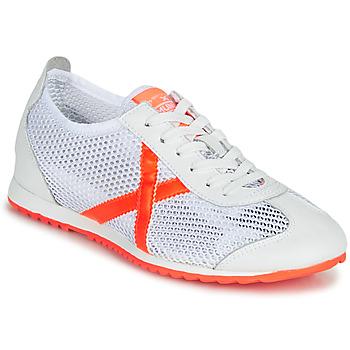Schuhe Damen Sneaker Low Munich OSAKA 456 Weiß / Orange