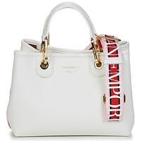 Taschen Damen Handtasche Emporio Armani BORSA SHOPPING Weiß / Bunt