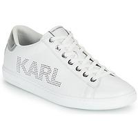Schuhe Damen Sneaker Low Karl Lagerfeld KUPSOLE II KARL PUNKT LOGO LO Weiß