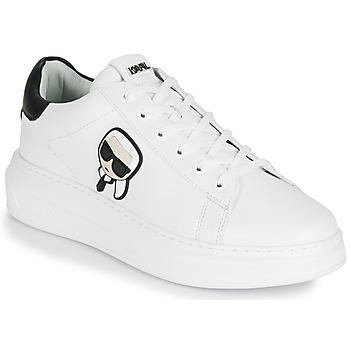 Schuhe Herren Sneaker Low Karl Lagerfeld KAPRI MENS KARL IKONIC 3D LACE Weiß