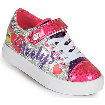 Schuhe Mädchen Rollschuhe Heelys SNAZZY X2 Silbrig / Bunt