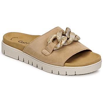 Schuhe Damen Pantoffel Gabor 6374314 Karamel