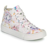 Scarpe Donna Sneakers alte Desigual BETA LACE TIE DYE