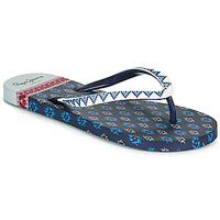 Schuhe Damen Zehensandalen Pepe jeans RAKE DANI Marineblau
