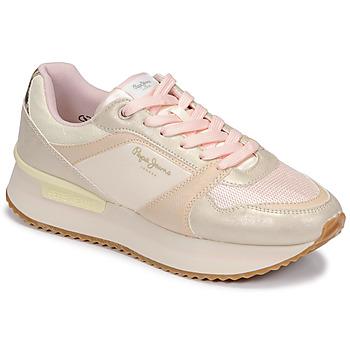 Schuhe Damen Sneaker Low Pepe jeans RUSPER EVE Weiß