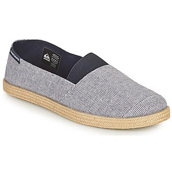 Schuhe Herren Leinen-Pantoletten mit gefloch Quiksilver ESPADRILLED Blau