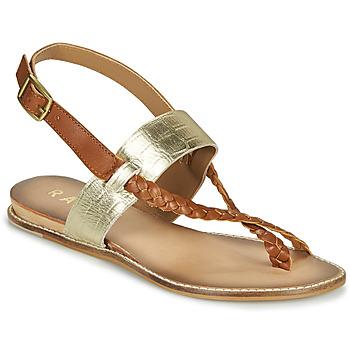 Schuhe Damen Sandalen / Sandaletten Ravel LUNA Golden / Kamel