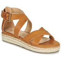 Schuhe Damen Sandalen / Sandaletten Ravel EMMY Kamel