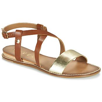 Schuhe Damen Sandalen / Sandaletten Ravel ASPEN Golden / Kamel