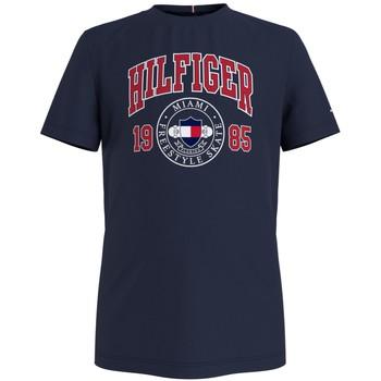 Vêtements Garçon T-shirts manches courtes Tommy Hilfiger CRISA