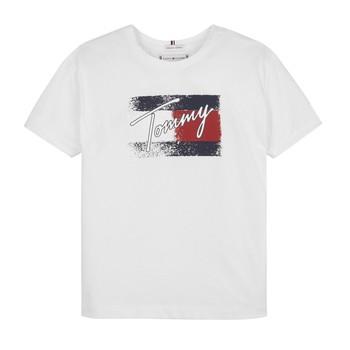 Abbigliamento Bambina T-shirt maniche corte Tommy Hilfiger MONCHE