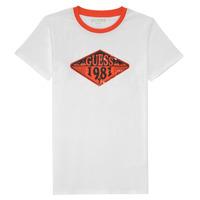Vêtements Garçon T-shirts manches courtes Guess L1GI09-K8HM0-TWHT