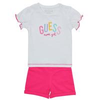 Kleidung Mädchen Kleider & Outfits Guess A1GG07-K6YW1-TWHT Bunt