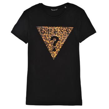 Vêtements Fille T-shirts manches courtes Guess J1RI27-K9MV0-P954