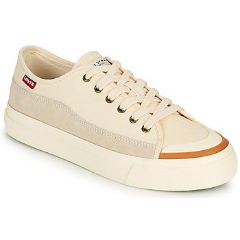 Schuhe Damen Sneaker Low Levi's SQUARE LOW S Weiß